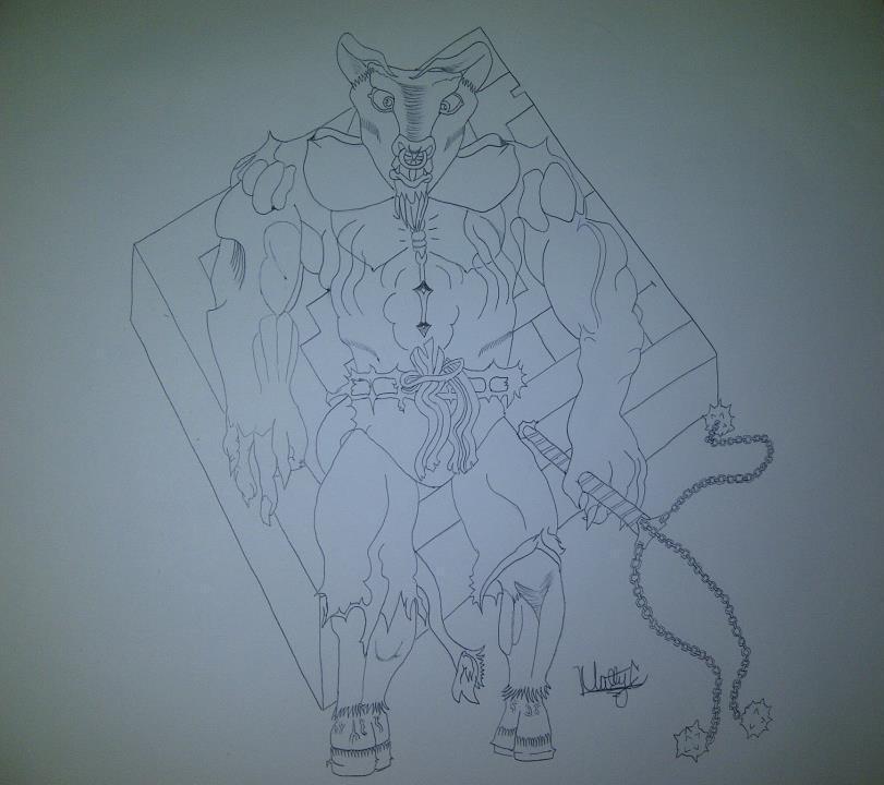 Minotaur by mattac26