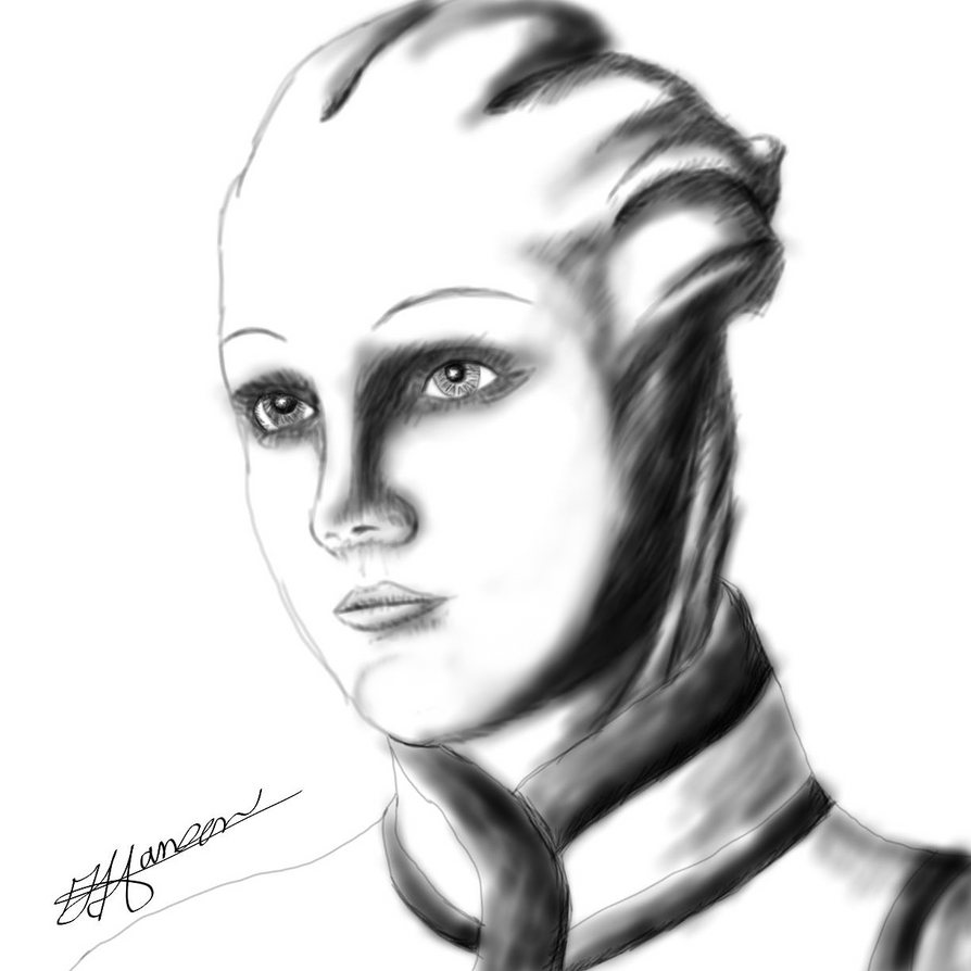 Dr. Liara T'Soni by Music-S-Brush