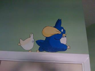 Totoro Bedroom pt.1 by Sakurakate