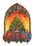 Christmas tree 2020 by Ophelia-Yvaine