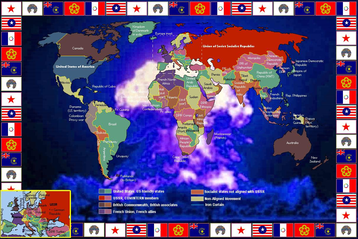 An Alternate Cold War 1981 By Blamedthande