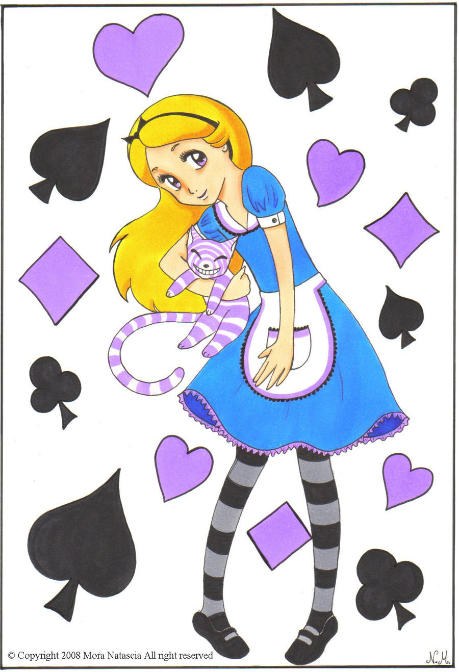 Alice in wonderland by Nati-picciui