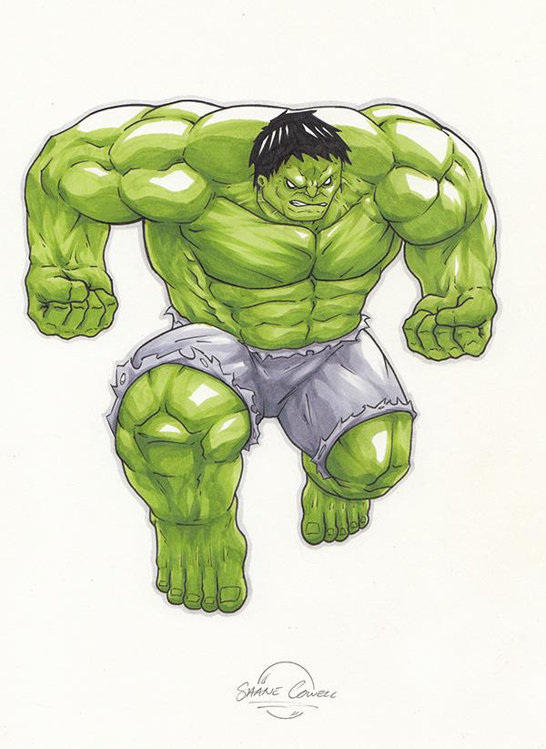 Hulk by Cowl1ck