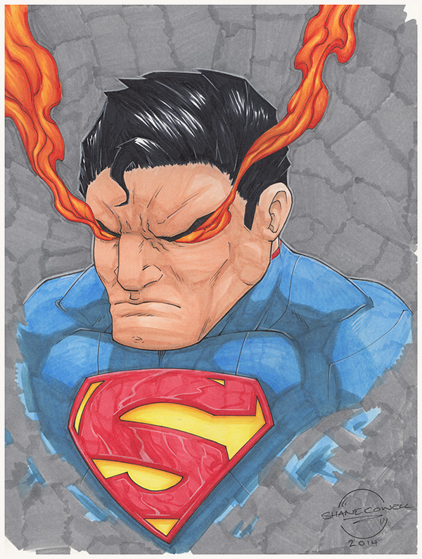 Superman by Cowl1ck