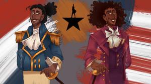 Lafayette and Jefferson