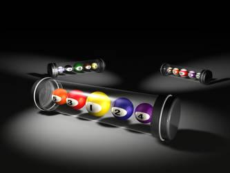 Billiard capsules by Edthegooseman