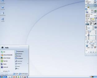 My pixos desktop by Edthegooseman