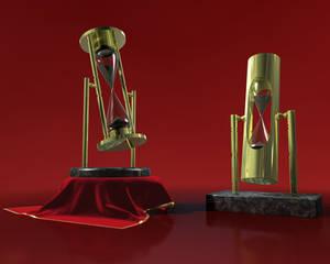 Luxury hourglass
