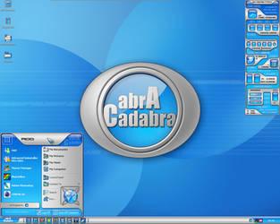My abracadabra desktop by Edthegooseman