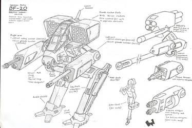 B.A.D - BF-20 by wraith11