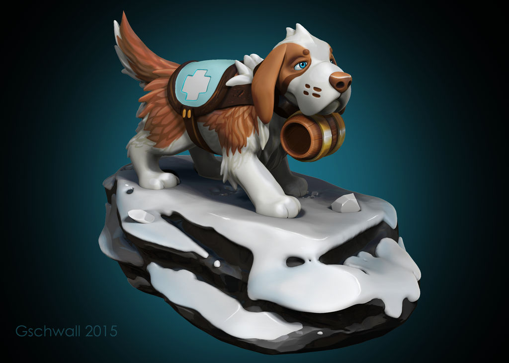 SnowDog Re-rendered