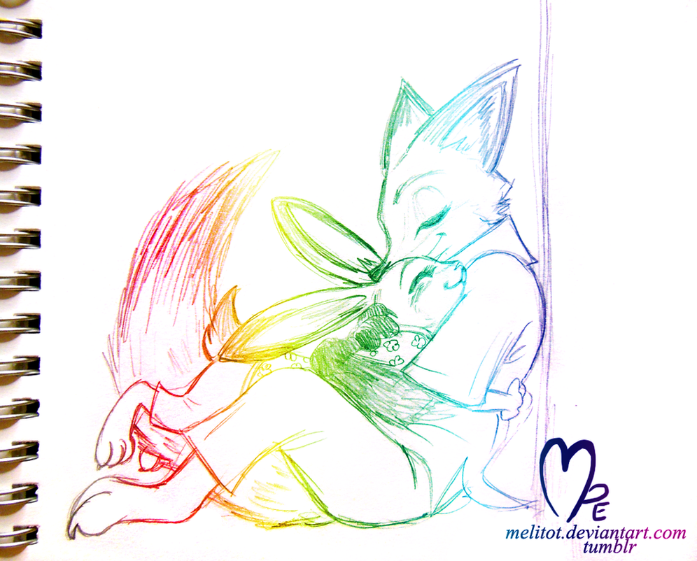 Cuddlehug by Melitot