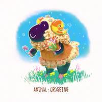 animal crossing VESTA by DyoudiM