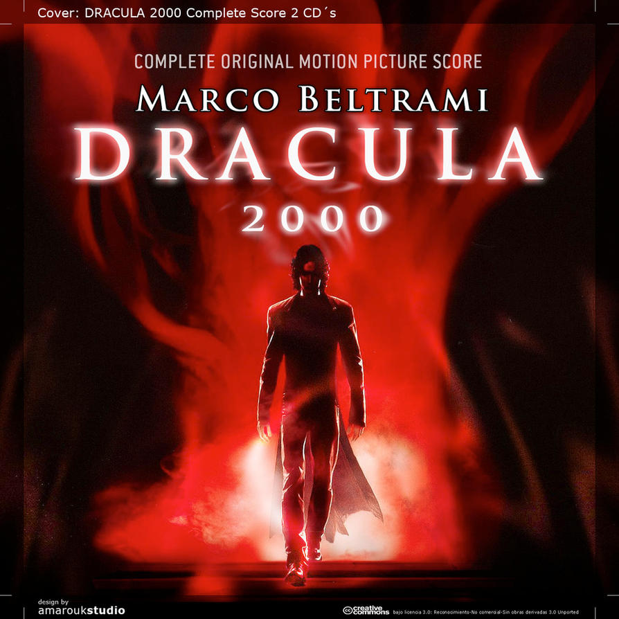 dracula 2000 ost c score alt cover by ivanvalladares on