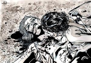 Vampire V20 Spain illustration 4th inks
