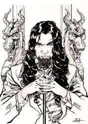 Vampire V20 Spain illustration 1th inks