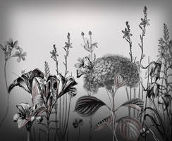 24 Flower Brushes by pinkonhead