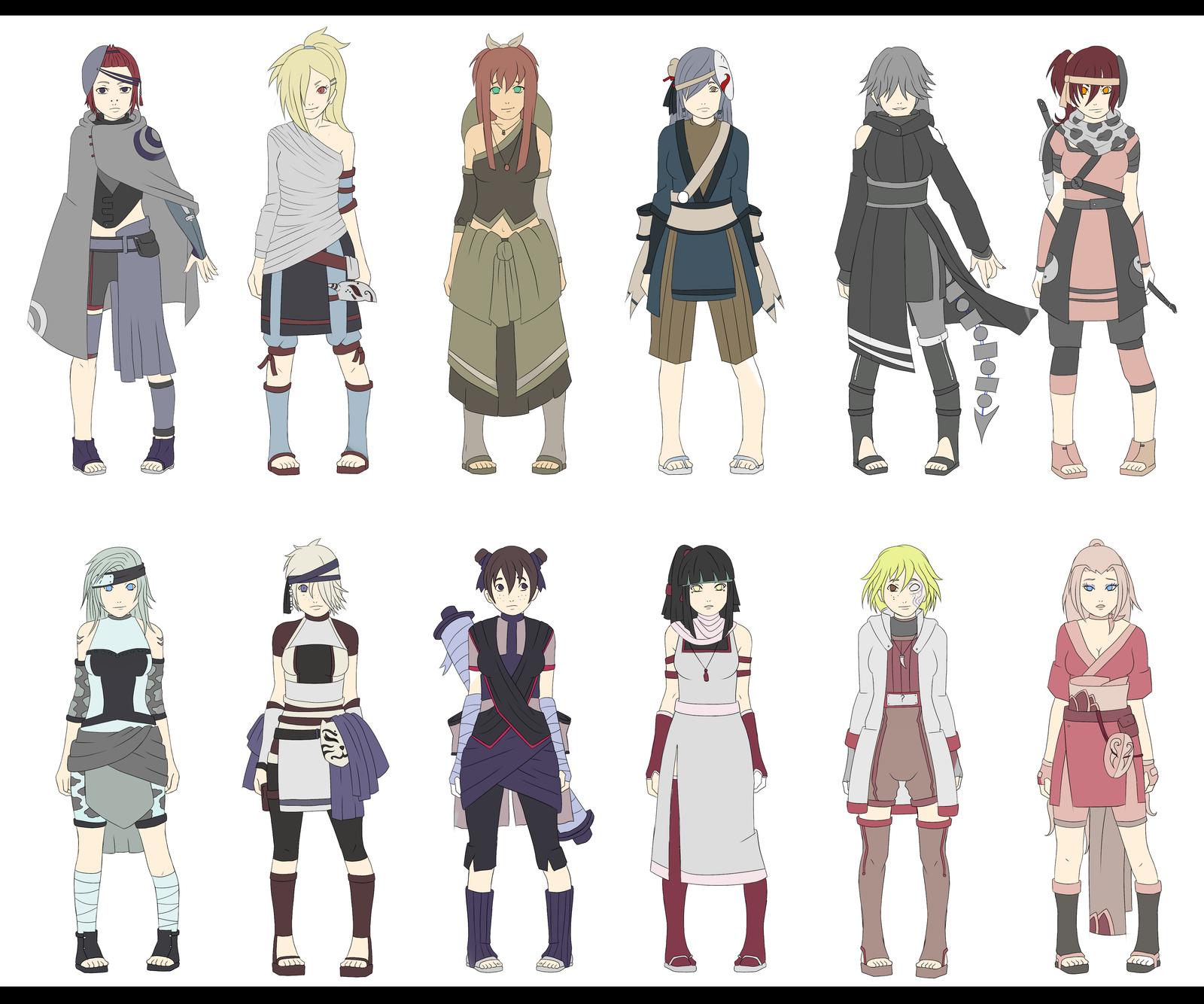 Naruto Oc Adoptables h...
