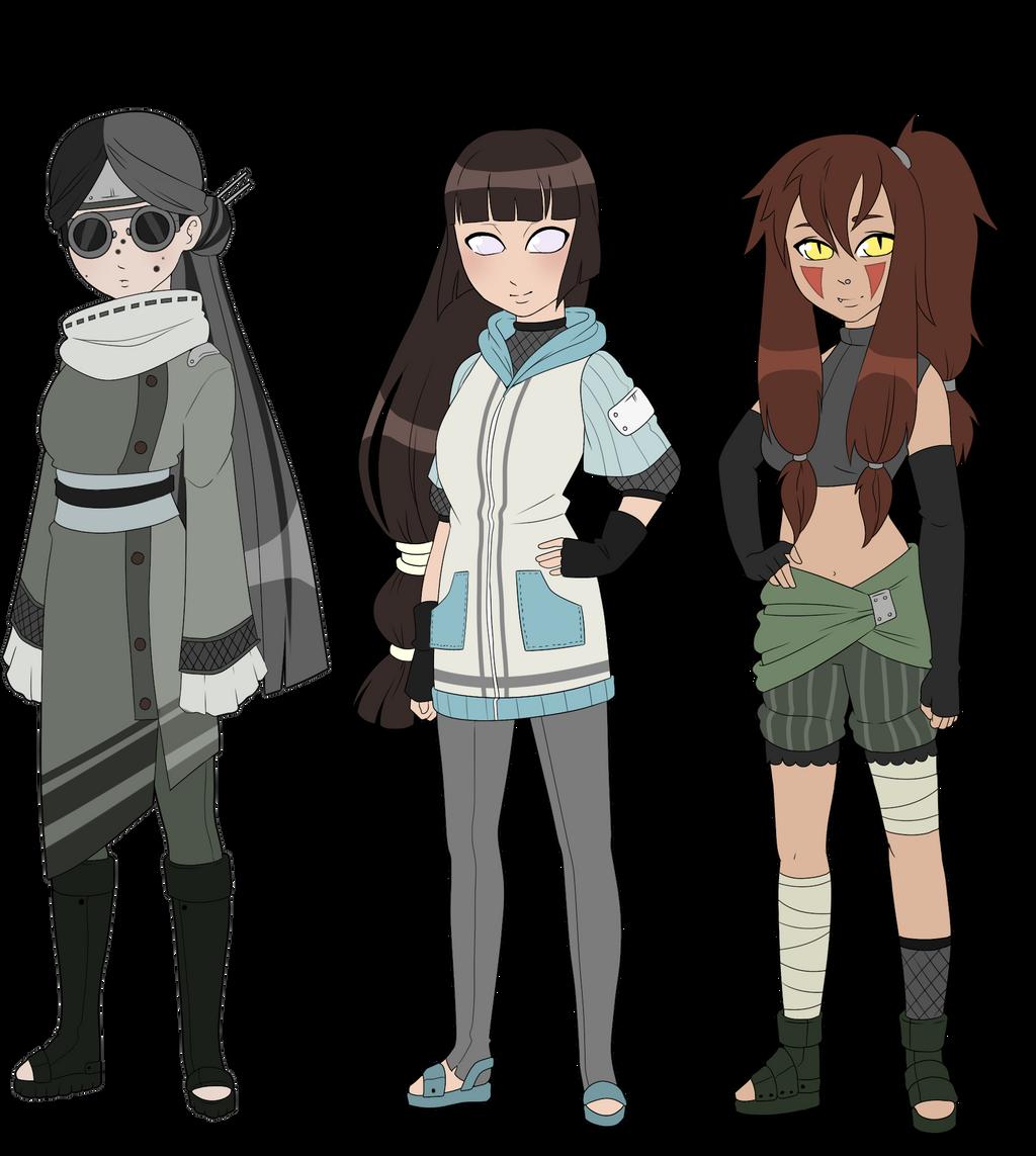 Team 8 Kunoichi Adoptables By Zombie-adoptables On DeviantArt