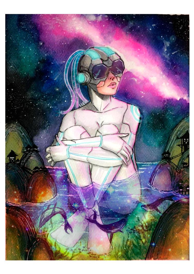 cyborg zen by clararuiz91