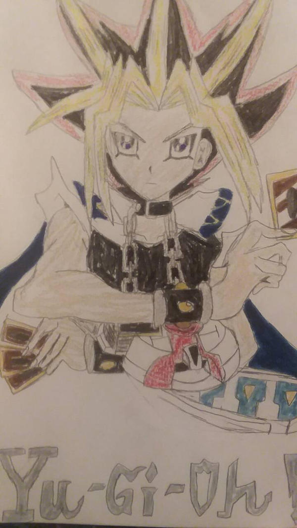Yugioh picture from my sister by OGB20
