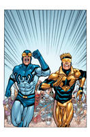 Booster Gold 34a by DustinYee