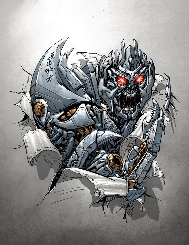 Megatron cvr by DustinYee