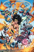 Wonder Woman 600b by DustinYee