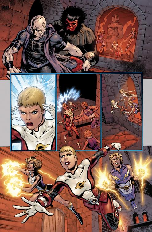 Legion of Superheroes 4 c by DustinYee