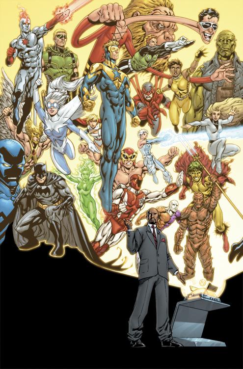 Justice League International #1 by DustinYee
