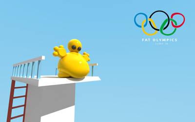 Fat Olympics by vozzz