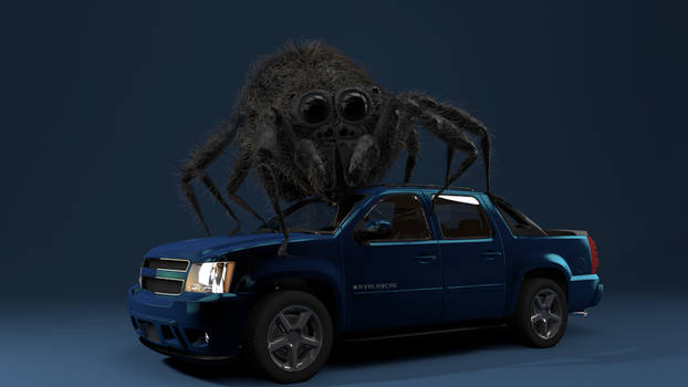Spider on Car WIP