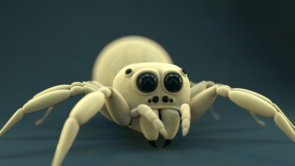 Spider - hairless by vozzz