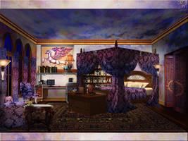 Crizarah's Room by OokamiKasumi