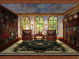 The Library by OokamiKasumi
