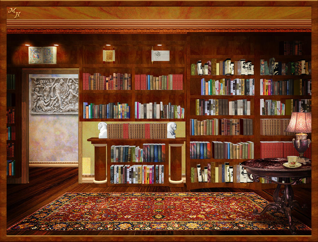 Library HD Wallpapers Backgrounds Wallpaper