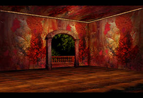 Red-Gold room - vacant by OokamiKasumi