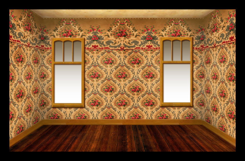 Victorian Parlor Unfurnished By Ookamikasumi On Deviantart