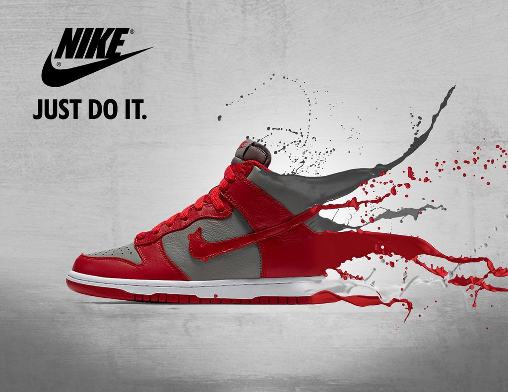 Advertisement Just Do It Nike Shoe