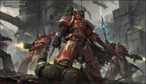 Chaos Space Marines by Bzitz