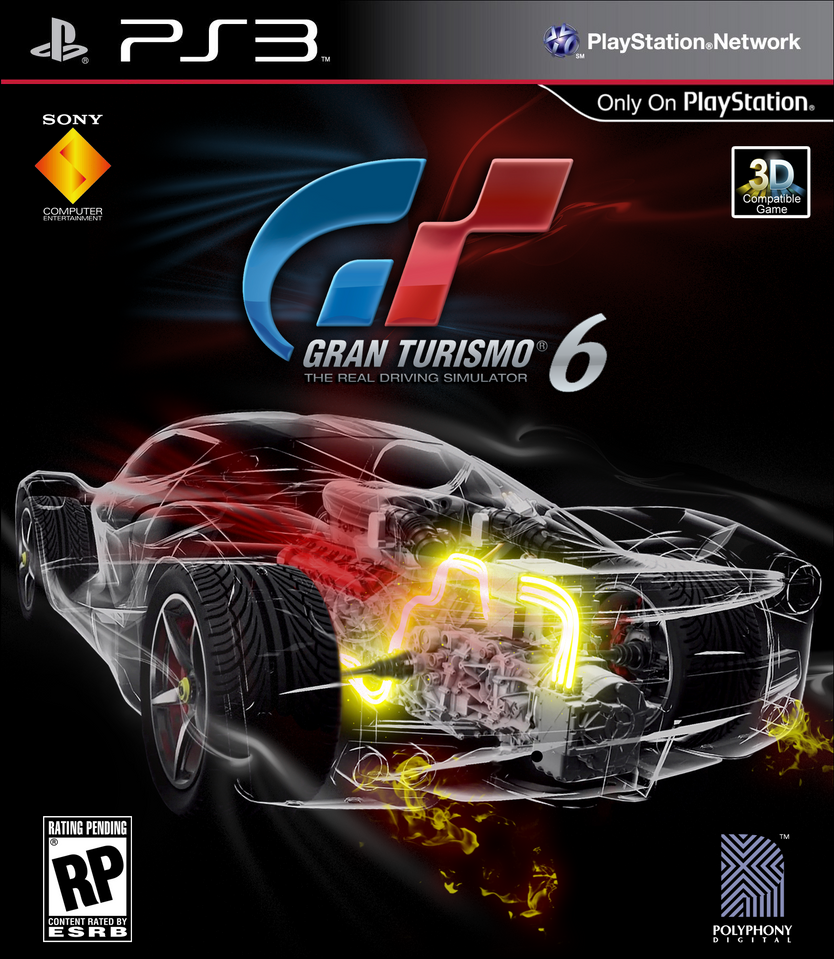 Gran Turismo 6 Fantasy Cover IV By Huayra419