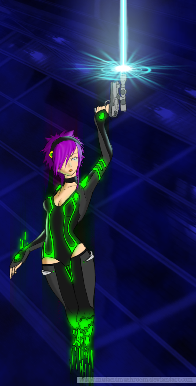 Cyber Coloured by Sylvianas