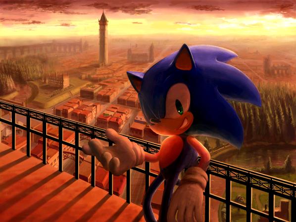 Sonic by raseinn