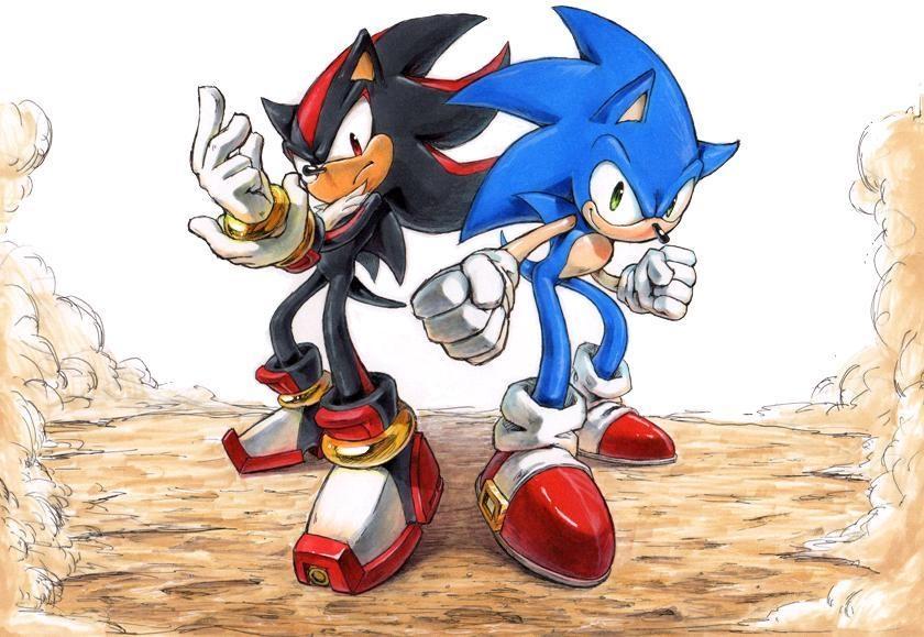Sonic and Shadow by raseinn on DeviantArt