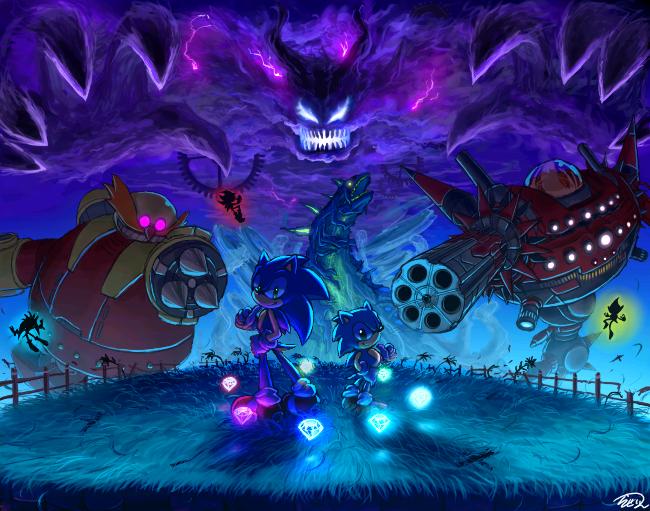 Sonic Generations by raseinn