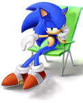 Sonic is looking at you ...