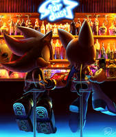 Rouge and Shadow   In a bar