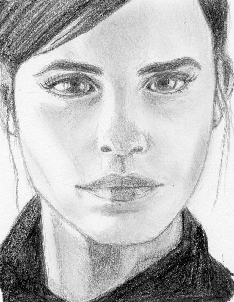 Emma Watson by cchersin