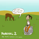 Portal 2 - Thinking with deers