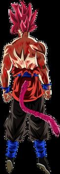 Goku Ssj Dios (Render 4)